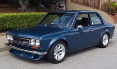 This 1972 Datsun 510 is a modified example equipped with a Nissan in. 1966 Chevelle, Chevrolet Camaro, Ford Classic Cars, Classic Cars Online, Nissan, Classic Japanese Cars, Japan Cars, Jdm Cars, Toyota Corolla