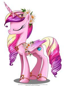 May Festival Pony - Cadence by selinmarsou.deviantart.com on @deviantART: