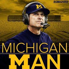 Coach Jim Harbaugh, Michigan ... GoBlue! 12.29.2014