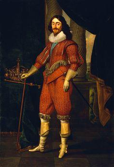 Charles I (1600-1649) - Daniel Mytens the Elder - Royal Museums Greenwich Prints