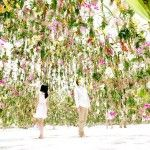 An Immersive Digitally-Controlled Installation of Suspended Flowers by Japanese Art Collective teamLab Art Installations, Installation Art, Secret Life Of Plants, Bio Art, Floating Flowers, Colossal Art, Green Architecture, Land Art, Public Art