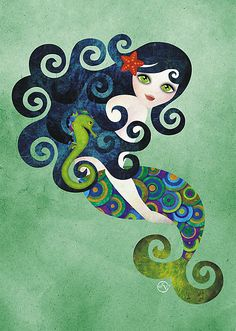 Mermaid Art #sirenas