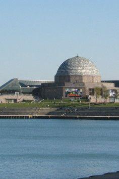 America's First Planetarium, the Adler Planetarium & Astronomy Museum in Chicago, Illinois.