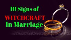 10 Signs of Witchcraft In Marriage - Powerful Prayer To Destroy Witchcraft in Marriage Deliverance Prayers, Powerful Prayers, Prayer Chain, Female Demons, Power Of Prayer, Witchcraft, Marriage, Bible, Healing