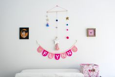Girls Nursery Wall A