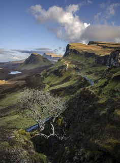 Trotternish region on the Isle of Skye, Scotland | by jamiefg
