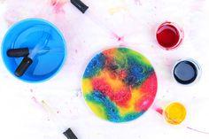 Process Art Idea: Salty Rainbows