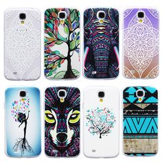 S4 mini Case TPU Soft Thin Animal Shockproof Protect Back Cases For Samsung Galaxy S4 mini S4mini i9190 Phones Covers