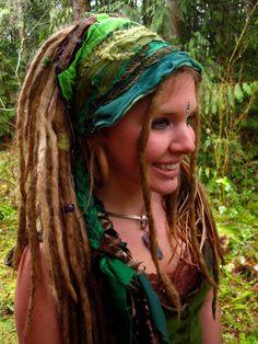 Headband Dread Wrap The OriginaL InterStellar Headband-- CUSTOM maDe FOR YoU-- Intergalactic Apparel FesTivaL CloThinG. $28.00, via Etsy.