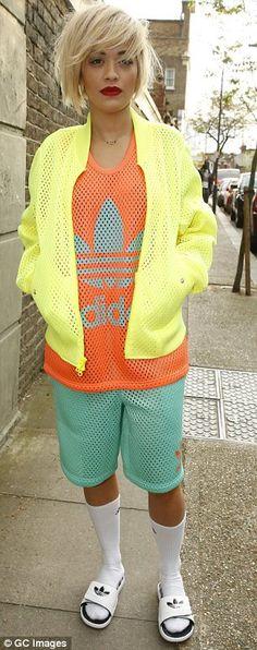 Rita Ora, that adidas swagg