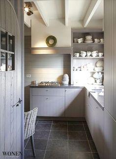 Belgian Interiors II /Martine Haddouche/: beautiful Belgian timeless kitchen decor home Belgium interior design