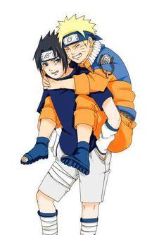 Dobe-Teme Naruto Uzumaki, Sasuke And Naruto Love, Sasuke X Naruto, Naruto Anime, Naruto Cute, Boruto, Sasunaru, Narusasu, Blue Exorcist Anime