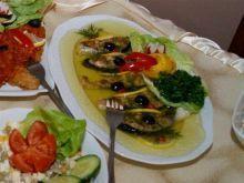 Łosoś w galarecie mocno koperkowy Tacos, Mexican, Ethnic Recipes, Mexicans