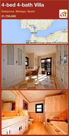 4-bed 4-bath Villa in Estepona, Malaga, Spain ►€1,750,000 #PropertyForSaleInSpain