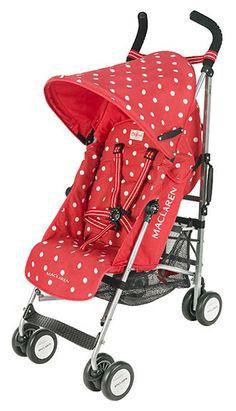 Cath Kidston Maclaren stroller. whoa.
