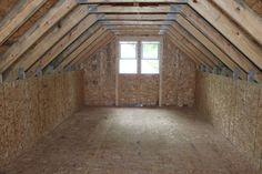 Attic | ... storage then maybe a Room in Attic Truss is the Garage truss for you
