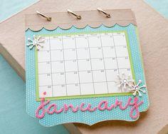 A cute calendar idea from #CTMH