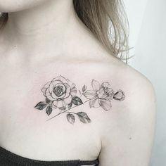 rosese close up #tattoo#tattoos#tattooing#tattoowork#tattooart#flowertattoo#rosetattoo#rose#blackwork#art#artist#타투#꽃타투#장미타투#탄생화##타투이스트꽃#tattooistflower