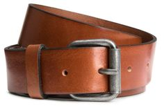 Thin-style leather belt  £13  Zara