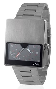 Void Watch Retro Gauge Stainless