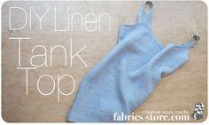 DIY: Fog Linen Tank Top