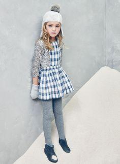 Nellystella Ella Dress in Checker - N15F012 - PRE-ORDER
