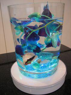 Orchids underwater