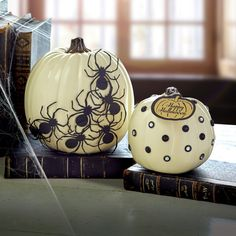 Give your pumpkins a little Halloween magic with spooky embellishments and Halloween tags.