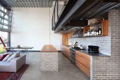 Capitol Hill Loft - modern - Kitchen - Seattle - SHED Architecture & Design