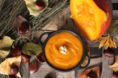 Velouté de potimarron et châtaigne par @SooFoodandCo Baby Cooking, Cooking Time, Toddler Meals, Ratatouille, Baby Food Recipes, Food Styling, Gluten, Cheese, 20 Minutes