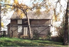 Barber House, Winnipeg, MB  - built in 1862; was occupied by the Barber Family for 100 years, was used by various families until 1987 when it became a heritage site  - it has recently burned down but is currently being restored  - there's a legend that a man killed his entire family and then himself in this house causing the activity  - voices and noises are heard from within, lights will shine through the boards when there is no power even going to this house, mysterious mists    are seen