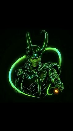 The God of Mischief The God of Mischief- Loki - neon - Avengers - Loki Marvel, Marvel Comics, Marvel Films, Marvel Characters, Marvel Heroes, Thor, Loki Wallpaper, Avengers Wallpaper, Marvel Background