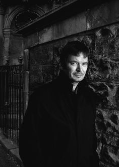 Ian Rankin The best crime writer ever! One of my favorites. I so wanted to meet him when we were in Edinburgh!
