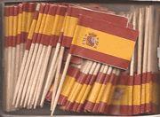 Spanish Flag toothpicks