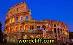 Descriptive Text About Colosseum In Rome