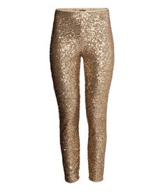 Sequined pants - H & M