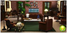 The Gentlemen's Lounge Collection - Store - The Sims™ 3