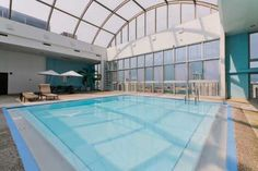 The wonderful indoor pool at 1221 N Dearborn.