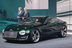 Bentley EXP 10 Speed 6 Concept front three quarter