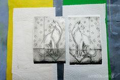am liebsten Bunt : Tiefdruck mit Nudelmaschine und Katze - Dry point etching with pasta machine and cat Tetra Pak, Drypoint Etching, Foto Transfer, Pasta Machine, Art Curriculum, Bunt, Printmaking, Poster, Cats