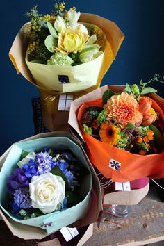 The bouquet for a farewell -送別用 花束-