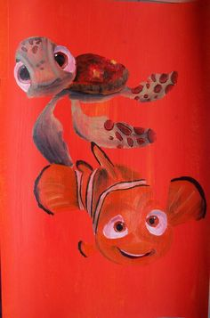 Nemo And Squirt by Billy Wallwork [©2013-2016 billywallwork525]