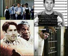 Lionel Messi telah dipanggil pengadilan dengan tuduhan penggelapan pajak. Mungkin begini kira-kira jika Messi dipenjara. _