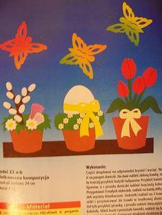 Foto: Diy Ostern, Easter Crafts, Planter Pots, Album, Archive, Journals, Pictures, Card Book