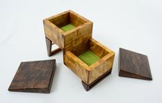 Using A Router, Shag Carpet, Green Fabric, Wooden Boxes, Things That Bounce, Cool Stuff, Wood Boxes, Wooden Crates, Wood Crates