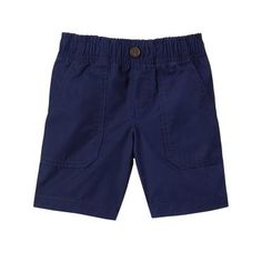 Toddler Boys Cruise Blue The Easy-On Short by Gymboree