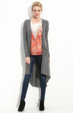 Free People 'Ribbed Up' Cardigan