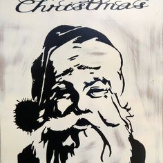 Distressed and classic St. Nick. He's a gem. Thanks for looking. See more of what I do at http://artsolovely.storenvy.com or https://www.etsy.com/people/artsolovely.