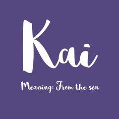 Kai – Simply Adorable Hawaiian Baby Names for Girls – Photos - Baby Boy Names Baby Girl Names Pretty Names, Cute Baby Names, Unique Baby Names, Baby Girl Names, Boy Names, Baby Names And Meanings, Names With Meaning, Hawaiian Names And Meanings, Hawaiian Baby
