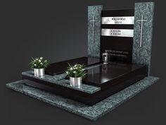 Nowoczesne nagrobki - Kamieniarstwo NeRo | Śląsk i cała Polska Grave Decorations, Bathroom Lighting, Mirror, Heavens, Funeral, Anna, Stones, Furniture, Home Decor